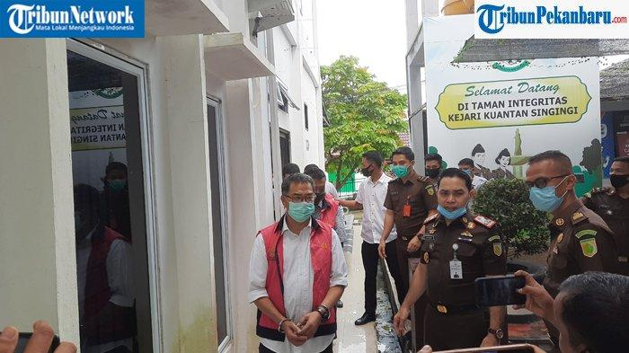PENGAKUAN Tersangka Dugaan Korupsi Rp 10 M di Setda Kuansing : Saya Siap Ditahan, Jalani Rapid Test