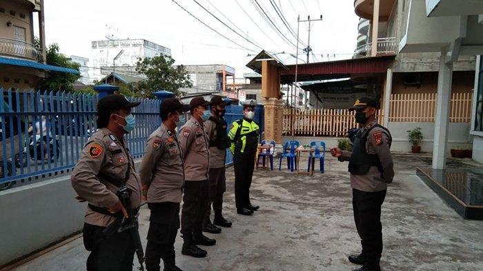 Polisi Bersenjata Laras Panjang Disiagakan,Perayaan Paskah di Meranti,Bengkalis,Pekanbaru,Rohul Aman