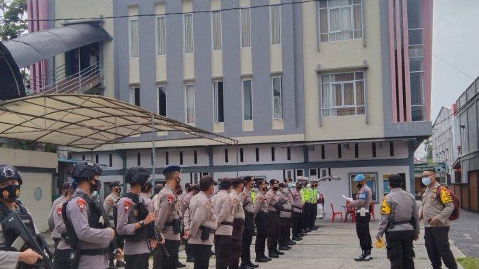 126 Personel Kepolisian Dikerahkan untuk Amankan Pleno KPU Pilkada Kepulauan Meranti 2020