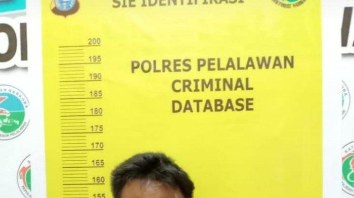 Sembunyi di Rumah Mertua, Pengedar Sabu-sabu di Pelalawan Disergap Polisi