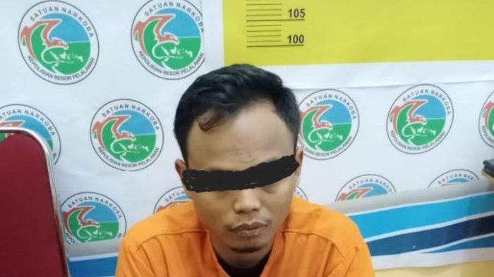 Kelabui Polisi Sembunyikan Sabu di Samping Kasur, Pengedar Narkoba di Pelalawan Riau Diciduk