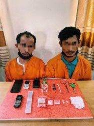 Polisi Intai Rumah Pria di Inhil Sebelum Digerebek, Ternyata Ini yang Sedang Dilakukannya, Ngapain?