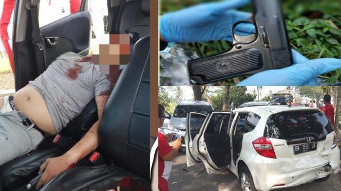 Polres 50 Kota Tembak Mati Pria Asal Rumbai Pekanbaru, Berawal Saat Melaju Kencang Pakai Honda Jazz