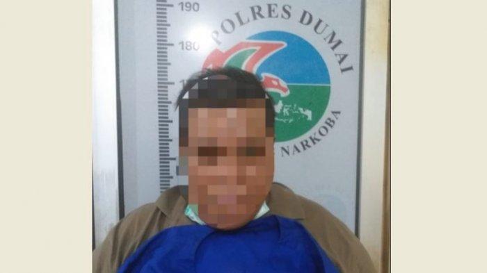 Pengedar Narkoba di Dumai Ditangkap, Sabu 76,45 gram Disita