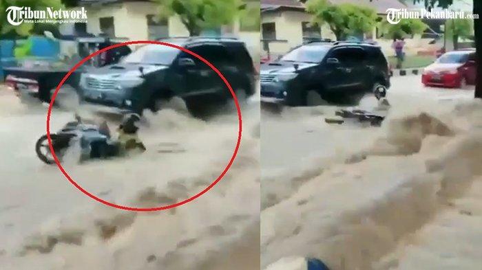 AJAIB, Bocah 2 Tahun Selamat Setelah 5 Jam Terseret Banjir,  Ditemukan Opanya di Tumpukan Kayu