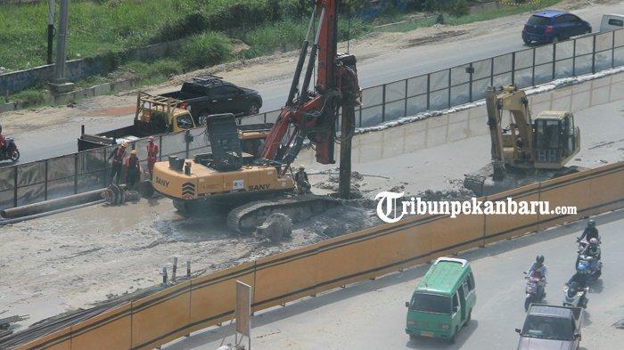 Warga Kesal Jalan Alternatif Dampak Pembangunan Flyover Tak Kunjung Diperbaiki