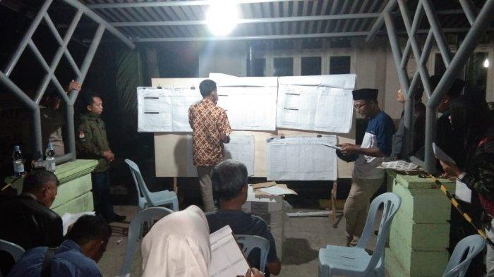 502 TPS Penghitungan Ulang, KPU Keroyokan Tuntaskan Pleno di PPK Mandau Riau