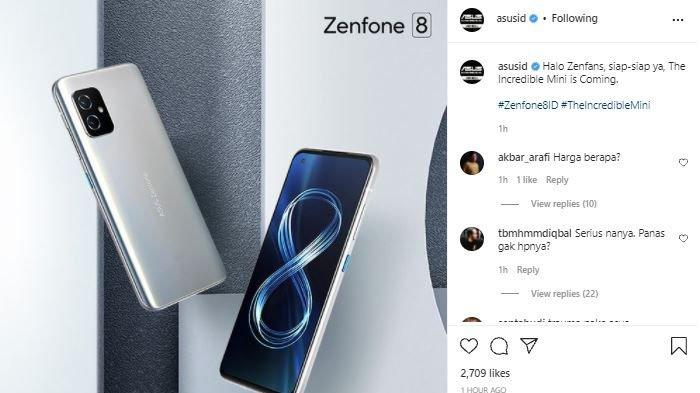 Siap-siap, Ponsel Mungil Flagship Asus Zenfone 8 Akhirnya Bakal Resmi Meluncur di Indonesia