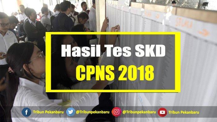 Link Pengumuman Hasil Tes SKD CPNS 2018 Kemenag dan Peserta Tes SKB, Klik Disini