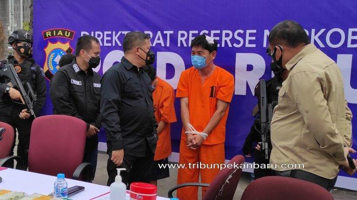 Kompol Imam Ziadi yang Ditangkap saat Membawa Sabu Jalani Sidang Perdana, Kayu Gaharu Jadi Signal