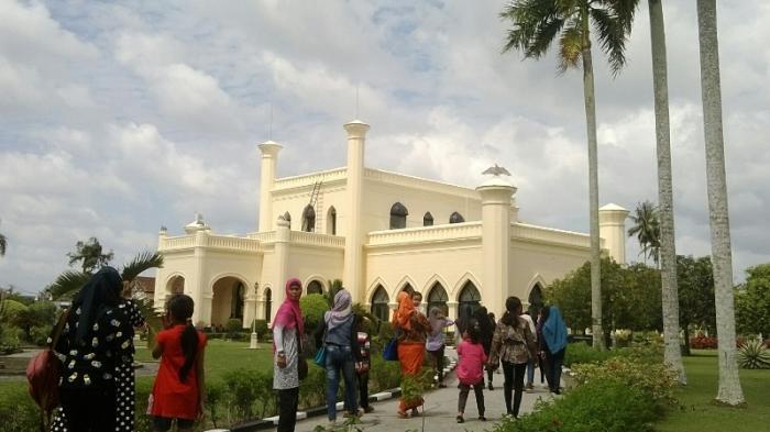 Kembali Dibuka untuk Umum, Aktivitas di Istana Siak Kembali Normal