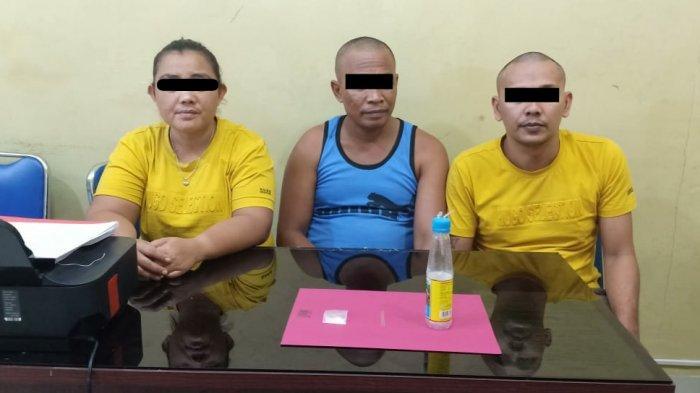 Tak Melawan Saat Disergap Polisi, Lima Pelaku Sabu di Rohul Riau Diamankan di Lokasi Berbeda