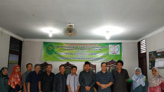 YLBH Sahabat Keadilan Buka Layanan Hukum Gratis di Pengadilan Agama Pasir Pangaraian