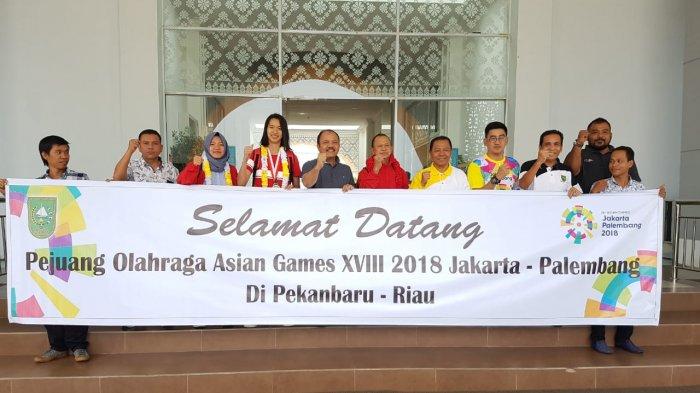 Atlet Riau Sumbang 5 Medali di Asian Game 2018,Ini Jadwal Penyerahan Bonus dari Gubri