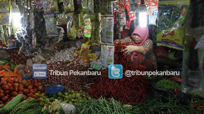 Untuk Satu Bulan ke Depan, Stok Beras Cukup dan Stok Bawang Merah Kurang di Kabupaten Siak