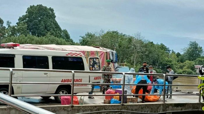 Bikin Panik,Penumpang Kapal Meninggal Dunia di Pelabuhan Sungai Duku Pekanbaru,Ini Hasil Tes Antigen