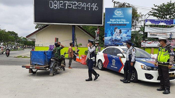 Banyak Belum Tahu,Ini 5 Titik Penyekatan di Panam Pekanbaru,Ada Prioritas Khusus,Kendaraan Apa Saja?