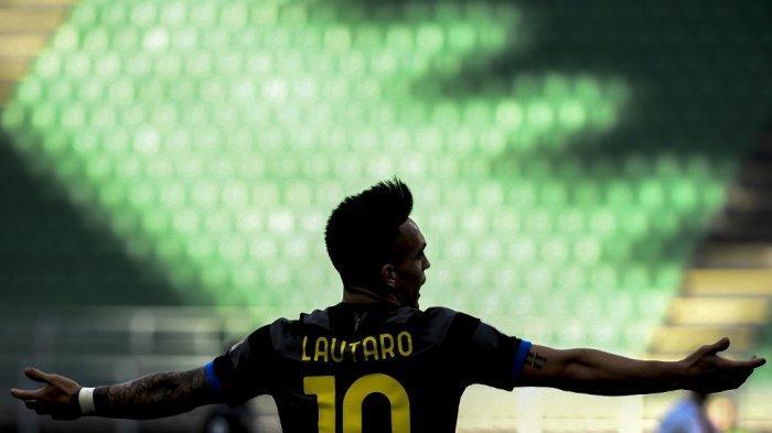Penyerang Inter Milan asal Argentina Lautaro Martinez