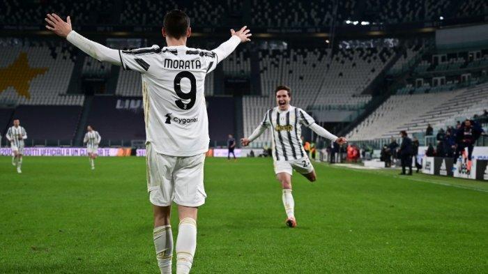 Sosok Tandem Alvaro Morata di Juventus, Allegri Pilih Pemain Ini, Bianconeri Berjaya di Liga Italia
