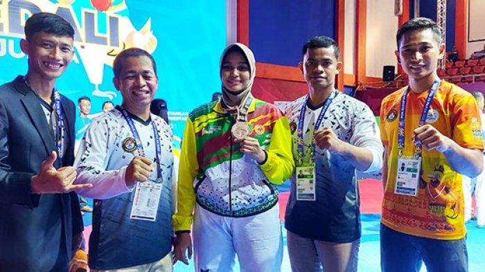 Maaf Taekwondo Gagal Sumbang Emas untuk Riau, Persembahkan 1 Perak dan 2 Perunggu di PON 2021