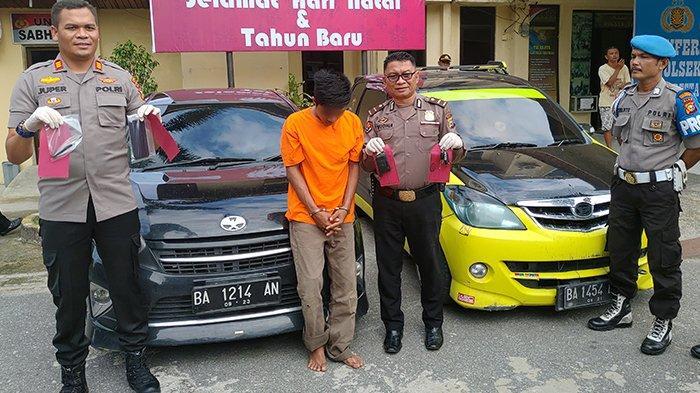 Perampok yang Lukai Driver GoCar di Pekanbaru Ditangkap di Bukittinggi, Motifnya Butuh Uang