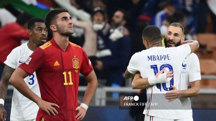 Kylian Mbappe, Pecundang di EURO 2021, Pemenang di UEFA Nations, Perancis Kalahkan Spanyol