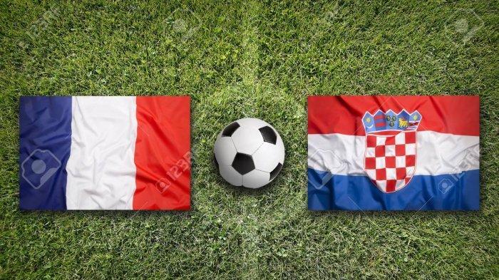 Live Streaming Perancis Vs Kroasia Piala Dunia 2018, Perebutan Tahta Tertinggi, LIVE Trans TV