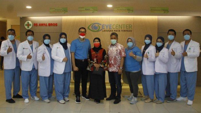 Peresmian Eye Center Layanan Mata Terpadu RS Awal Bros Pekanbaru