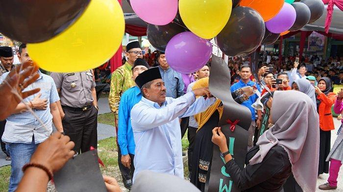 Bupati Siak Bangga Ada Perguruan Tinggi di Kandis, Resmikan Institut Edi Haryono Madani Riau
