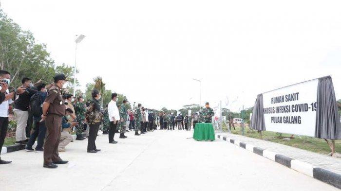 Berkapasitas 360 Pasien, RS Covid-19 di Pulau Galang Kepulauan Riau Hanya Rawat 36 Pasien
