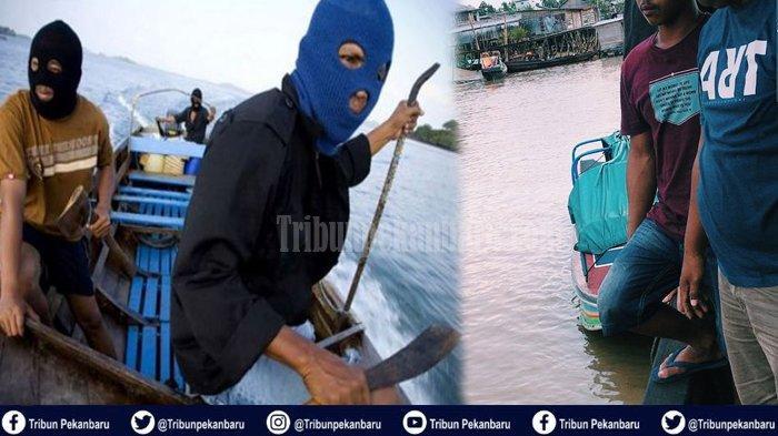 MENCEKAM, Perompak Bajak Speedboat di Perairan Inhil Riau, Ada Drama Penyanderaan Bak Fim Laga