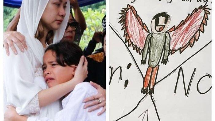 Coretan Gambar Noah untuk Ashraf Sinclair, Ini Firasat Bunga Citra Lestari Akan Ditinggal Suami?