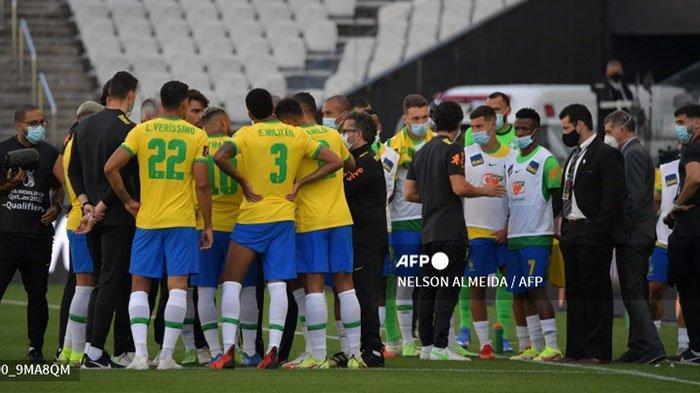 Begini Tanggapan FIFA soal Jadwal Pertandingan Ulang Brazil vs Argentina di Kualifikasi Piala Dunia