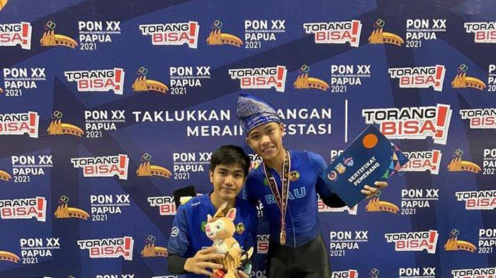 Pelatih Klub RRS Sumbang Perunggu untuk Riau di PON 2021 Cabor Sepatu Roda