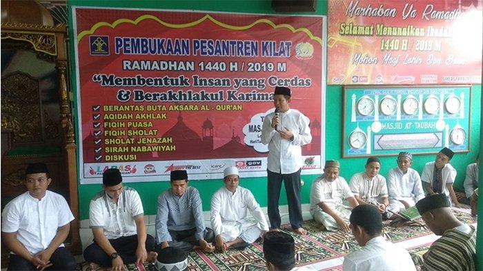 Warga Binaan Lapas Pasirpangaraian Riau Ikuti Kegiatan Pesantren Kilat