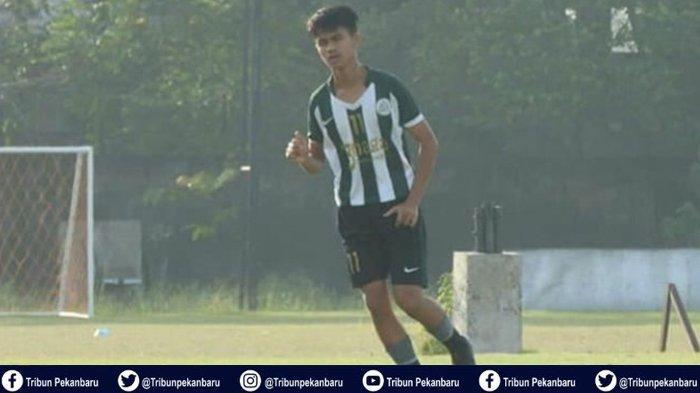 Pesepakbola Muda Asal Riau M Alif Saviola Masuk Timnas U-16 Indonesia Dipanggil Langsung Kemenpora