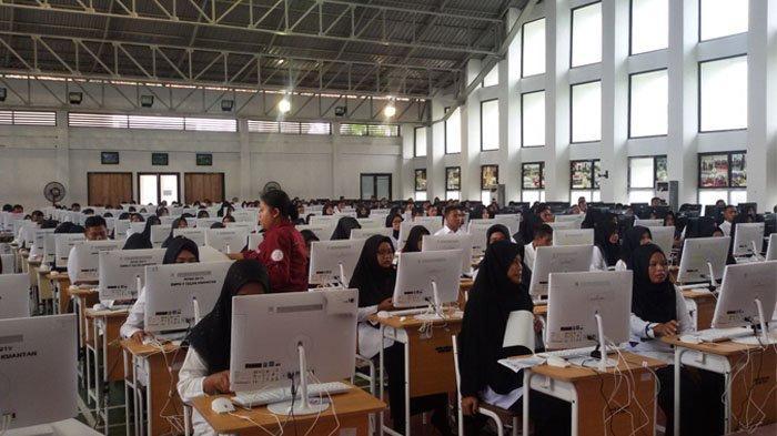Ujian SKD CPNS di Kuansing Digelar di SMAN Pintar, CP3K Guru Batal Ujian Besok