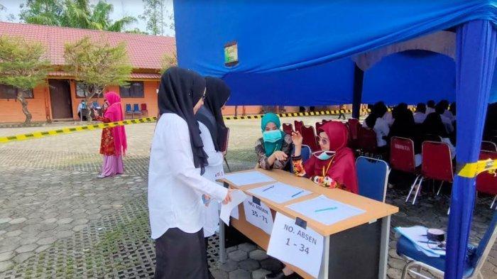 Test CPNS 2019 di Pelalawan Riau, 32 Peserta Tak Hadir Sesi 1 dan 2 pada Hari Keenam SKD