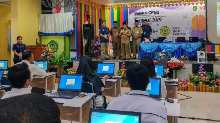 Peserta CAT SKD CPNS 2019 Dumai Dapat Dorongan Semangat dari Wali Kota