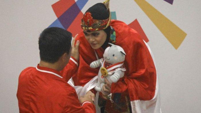 Tambah Medali Emas untuk Indonesia dari Cabor Pencak Silat, Puspa Arumsari: Emas Adalah Harga Mati