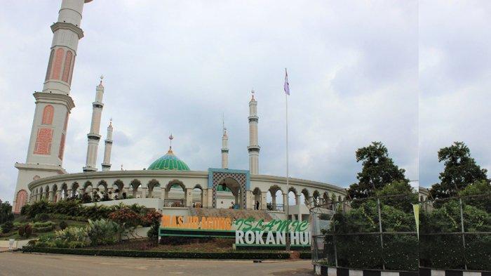 Masjid Islamic Center Rohul Riau Sudah Terima 73 Hewan Kurban, 66 Sapi dan 7 Kambing