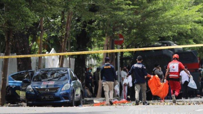 Polisi Beberkan Sosok L Diduga Pelaku Bom Bunuh Diri di Gereja Katedral Makassar, Ini Faktanya