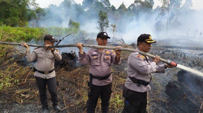 Lahan Perusahaan Terbakar, DPRD Siak Dukung Upaya Polda Dalami Karhutla di PT DSI