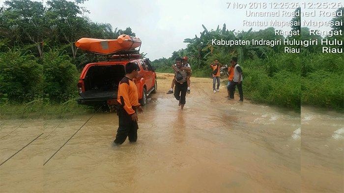 Riau Rawan Banjir, Masyarakat Diminta Waspada Kurangi Aktivitas Luar