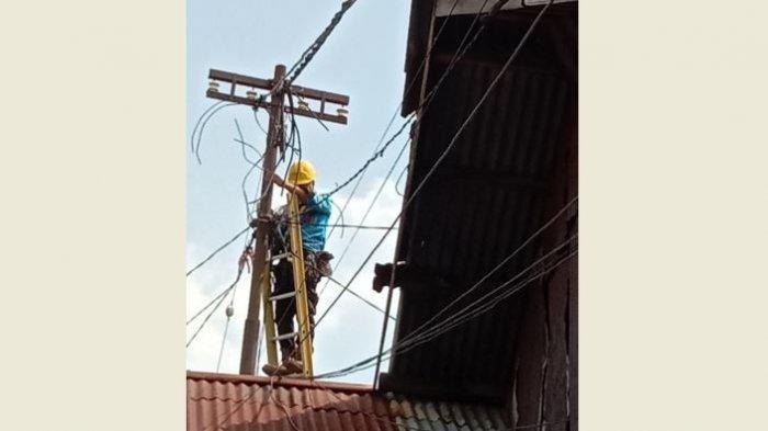 Pimpinan DPRD Pekanbaru Langsung Telpon PLN, Warga Kelurahan Sago Tak Cemas Lagi Rumahnya Terbakar