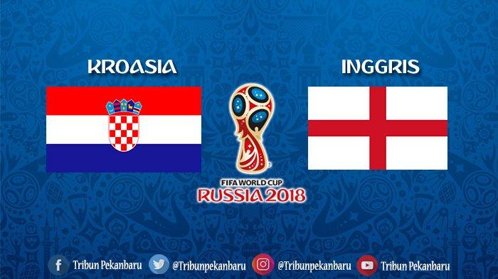 Jadwal Semifinal Piala Dunia 2018 Kroasia Vs Inggris, Live di TransTV, Bisa Tonton Pakai Cara Ini
