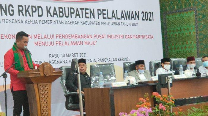 Pidato Perdana Bupati Pelalawan Terpilih Zukri Misran, Bahas Soal ini