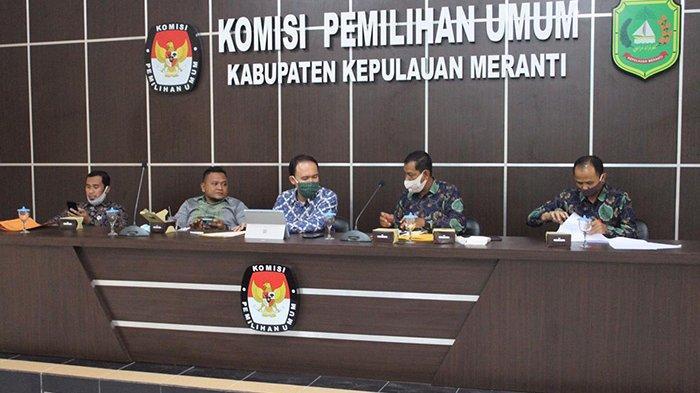 KPU akhirnya menetapkan Said Hasyim - Abdul Rauf sebagai Paslon Bupati dan Wakil Bupati Kepulauan Meranti pada Pilkada 2020, Selasa (14/10/2020).