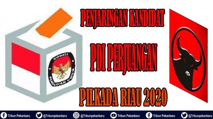 Pilkada Riau 2020 PDI Perjuangan Mulai Buka Penjaringan Kandidat untuk Pilkada Serentak 2020 di Riau