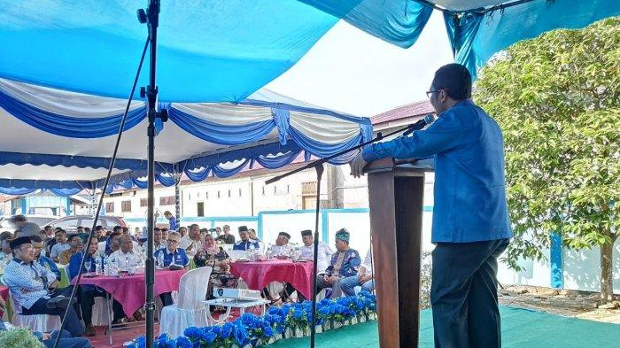 Pilkada 2020, Bagus Santoso Memaparkan Visi Misi Saat Temu Ramah DPD PAN Bengkalis